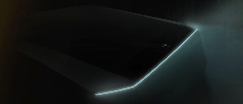 Tesla Pickup в стиле киберпанк