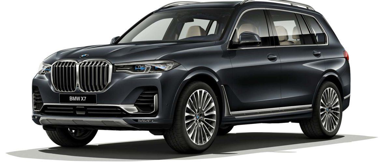 Флагман-внедорожник BMW X7