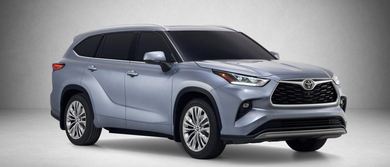 Toyota Highlander 2020 модельного года