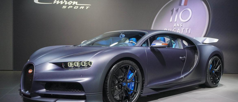 Эксклюзивные автомобили: 110 ans Bugatti (автосалон в Нью-Йорке, 2019 г.)