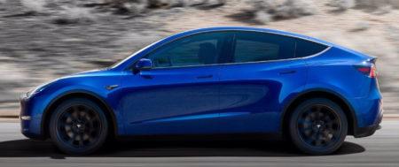 Новый электрокар Tesla Model Y 2021