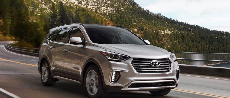 Кроссовер Hyundai Santa Fe перешел на другую платформу