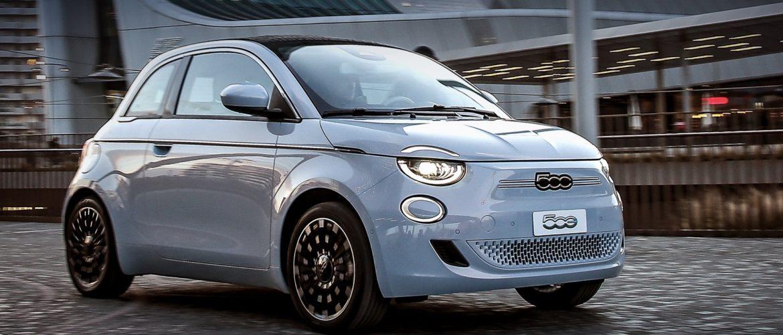 Fiat 500 проезжает 320 на одном заряде аккумулятора