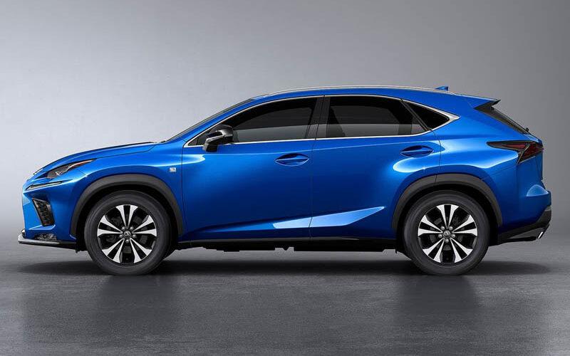 Автоконцерн Lexus продолжает тестирование новой версии кроссовера NX
