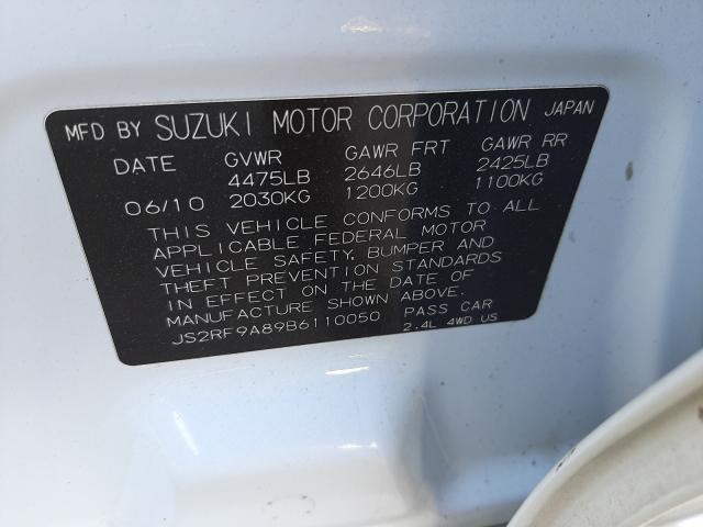 SUZUKI KIZASHI SPORT SLS